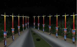 数知科技400根智慧路灯落户雄安新区  为雄安智慧城市建设打下基础传动齿轮
